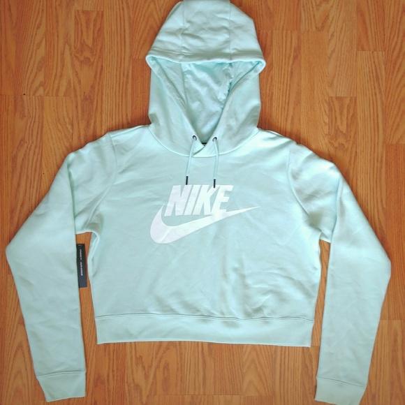 5429de5718fde Nike Crop Top Hoodie